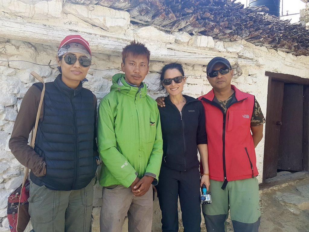 Natalie in Nepal