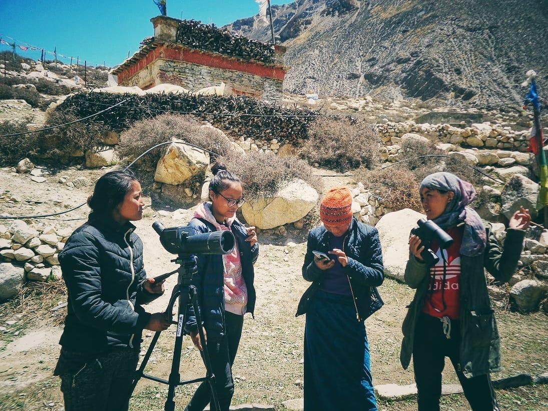 Community conservationists in Nepal